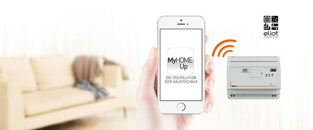 MyHOME / MyHOME_Up bei Elektro Kratochvil KG in Wertingen